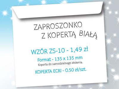 zaproszenie na studniówkę wzór ZS-10