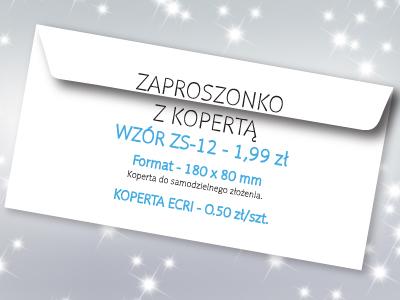 zaproszenie na studniówkę wzór ZS-12